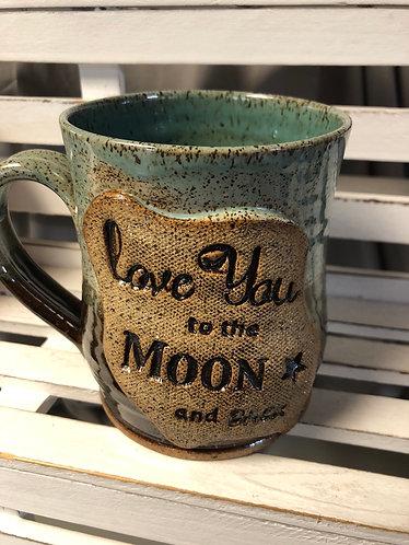 Love you to the Moon Mug