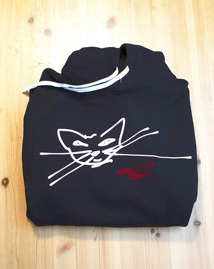 Canadian-made Kitty Love Hoodie