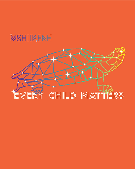 Orange Shirt Day Tee 2020 Mshiikenh (Turtle)