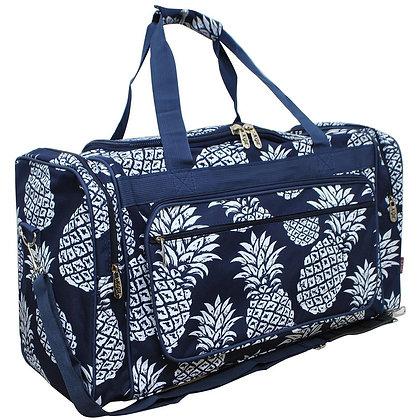 Pineapple Town Canvas Duffle Gym Bag