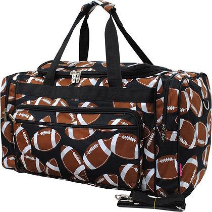Football Fan Canvas Duffle Gym Bag