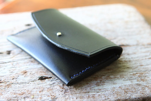 Hand stitched leather wallet/coin purse