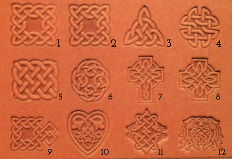 NEW-3D-Celtic-Designs-Leather-Stamps-CRA