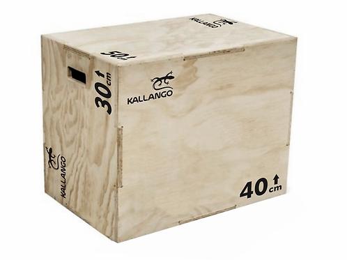 Caixa Para CrossFit - Plyo Box Naval - P - Kallango
