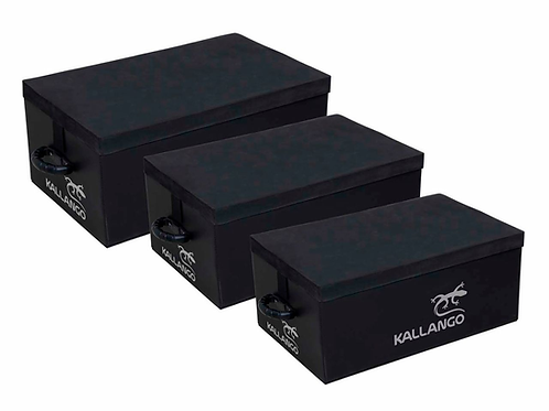 Kit Caixas para CrossFit - 3un - Kallango