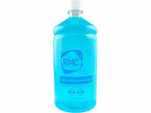 Gel Condutor Azul - Sem Álcool - Frasco de 1kg - RMC
