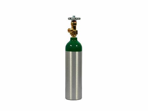 Cilindro de Oxigênio Medicinal - em Alumínio M6 - 1,0 Litros - Arktus