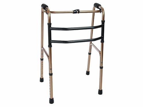 Andador Articulado - Dobrável - 3 Barras - Bronze - Mercur