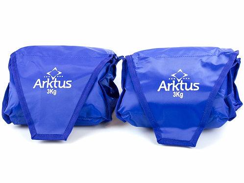 Tornozeleira - Par - Peso 3 Kg - Arktus