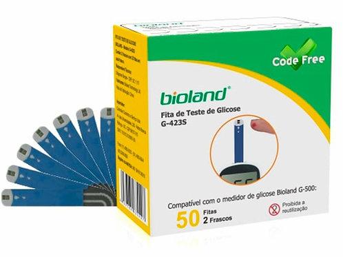 Fita para Glicosímetro - Caixa com 50 Fitas - Bioland