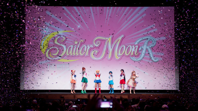 Sailor Moon R Premiere Event in Los Angeles. 2017
