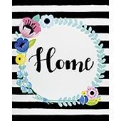 Floral Home Wreath