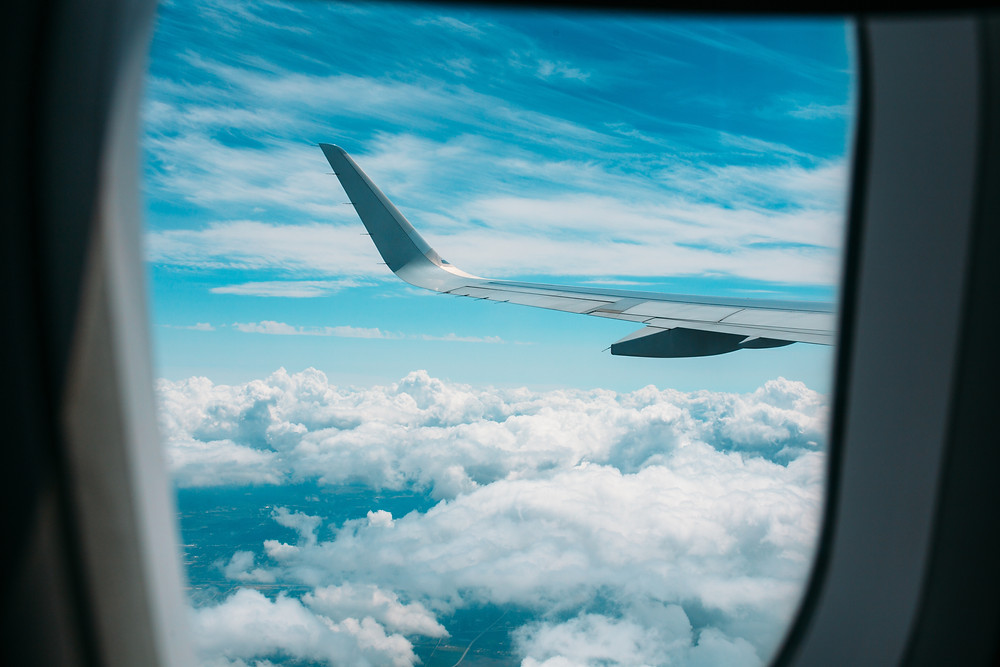 Senior Air Travel Vacation Aisle seat