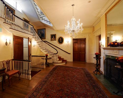 The Loeb Room at the Harvard Faculty Club
