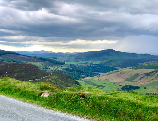 The view of Lough Tay from the Lough Tay Viewing Point on R759 just never gets old.