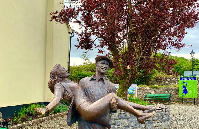 The Quiet Man statue