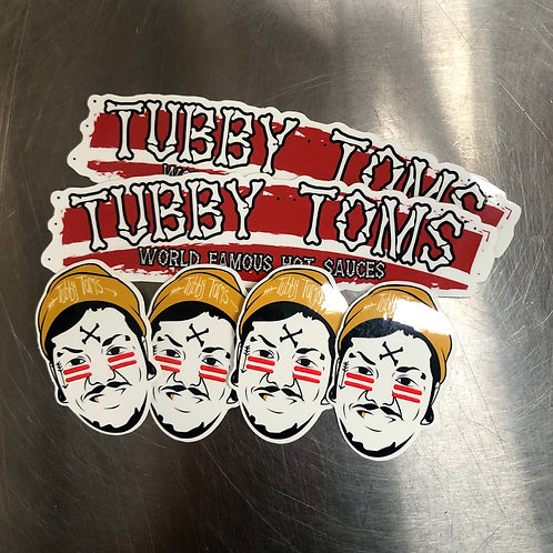 O.G TUBBY STICKER PACK