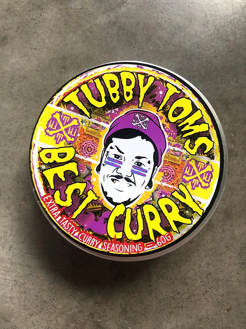 BEST CURRY - EXTRA HOT XXX SCORPION CURRY POWDER 60g