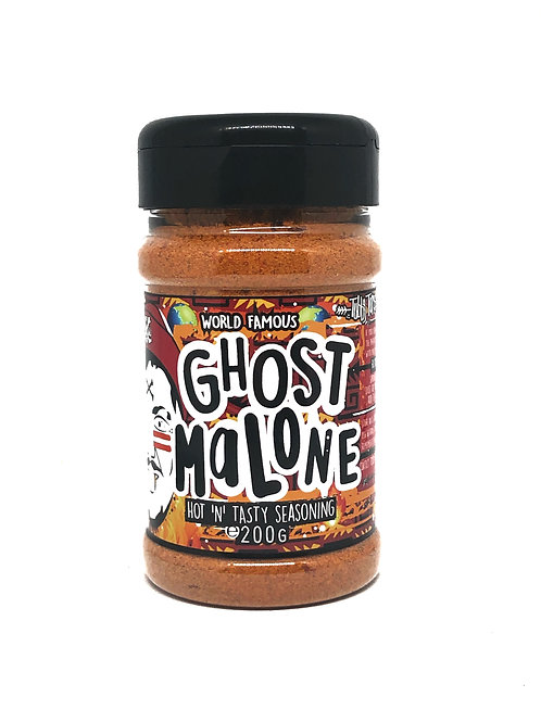 Ghost Malone - Ghost Chilli Hot Rub - 200g Shaker