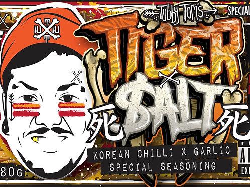 TIGER $ALT - KOREAN CHILLI X GARLIC 25g SAMPLE POUCH!