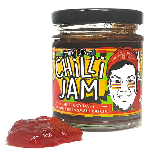 Tubby Tom's Original Sweet Chilli Jam - 200g Jar
