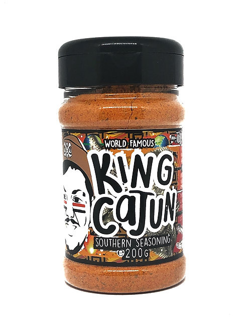 King Cajun - Southern Style Soul Food Seasoning - 200g Shaker