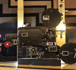 Art deco projector