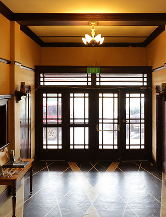 The Paragon Theatre foyer
