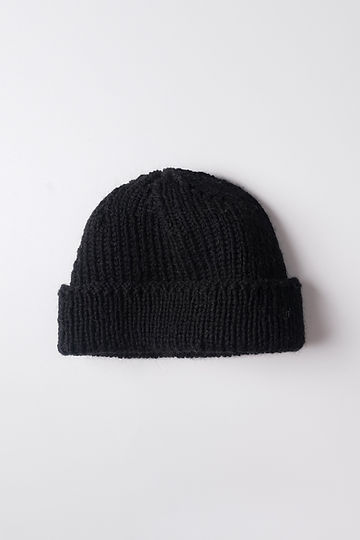 Fisherman beanie – Black