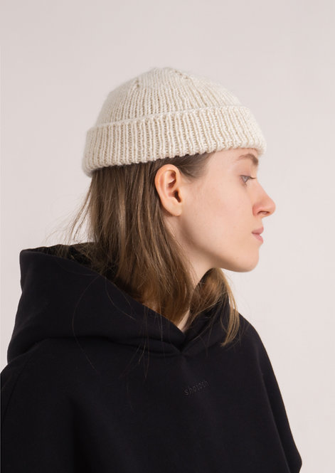 Fisherman beanie – Off White