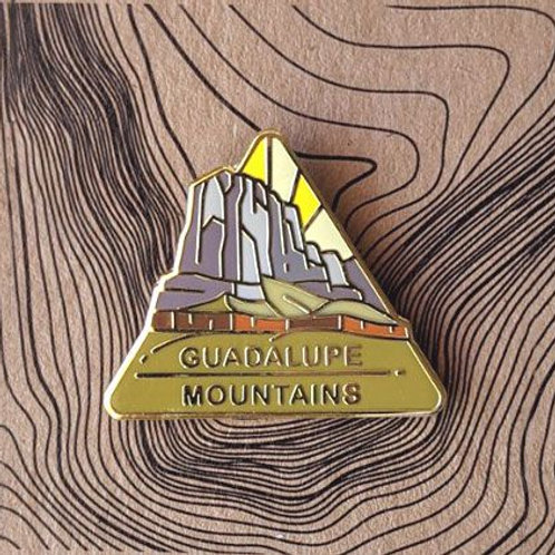 Guadalupe Mountains National Park Hard Enamel Pin