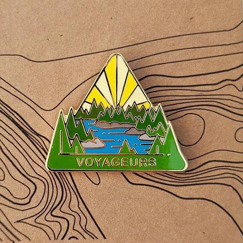 Voyageurs National Park Hard Enamel Pin