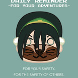 Toph Wears a Mask!