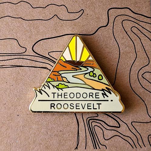 Theodore Roosevelt National Park Hard Enamel Pin