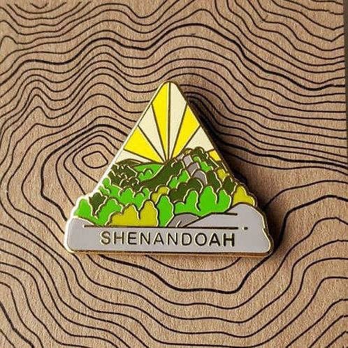 Shenandoah National Park Hard Enamel Pin