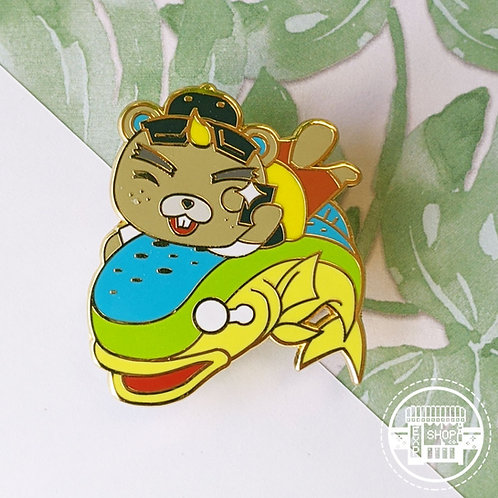 CJ Animal Crossing Hard Enamel Pin