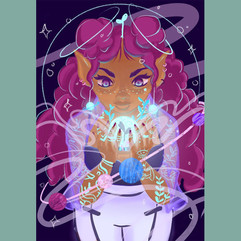 Alien Plant Girl