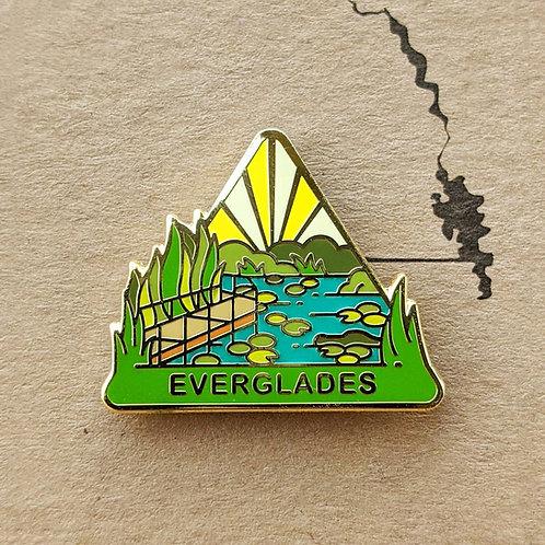 Everglades National Park Hard Enamel Pin
