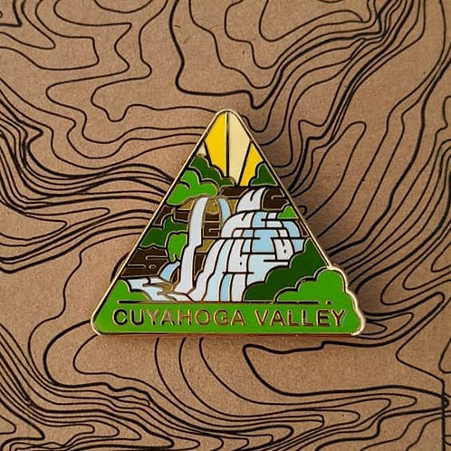 Cuyahoga Valley National Park Hard Enamel Pin