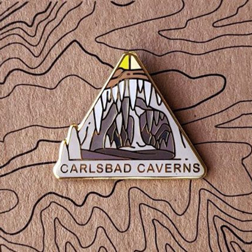 Carlsbad Caverns National Park Hard Enamel Pin