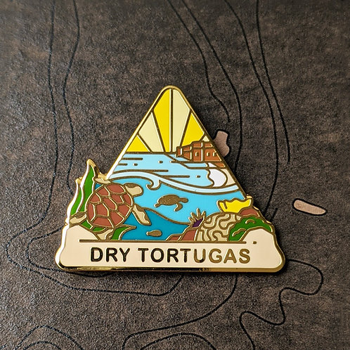 Dry Tortugas National Park Hard Enamel Pin