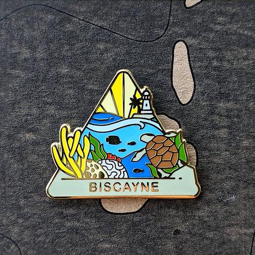 Biscayne National Park Hard Enamel Pin