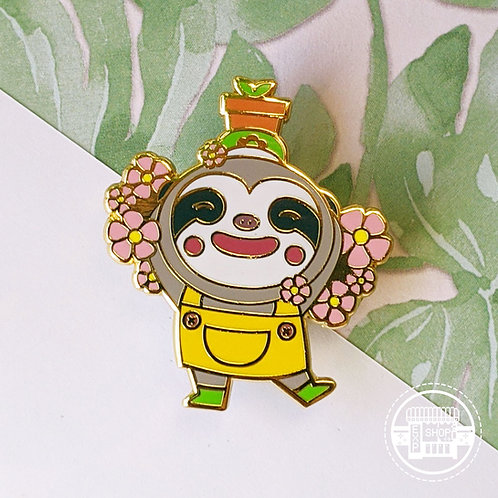 Leif Animal Crossing Hard Enamel Pin