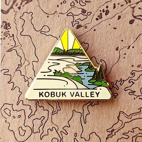Kobuk Valley National Park Hard Enamel Pin