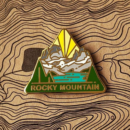 Rocky Mountain National Park Hard Enamel Pin