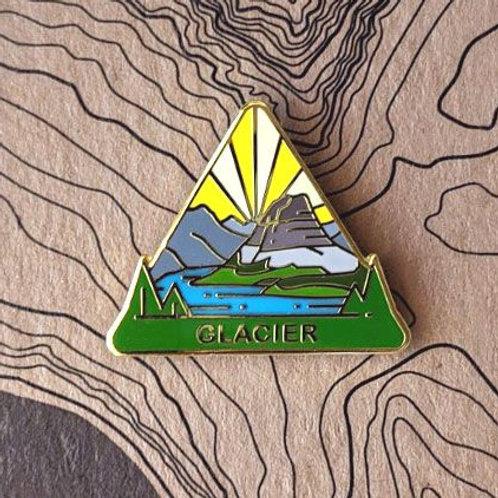 Glacier National Park Hard Enamel Pin