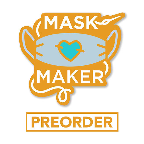 PREORDER: Mask Maker Hard Enamel Pin