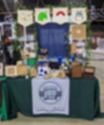 EXP ShopCo artist alley booth at Anime Impulse Pomona 2020