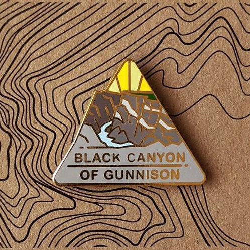 Black Canyon of the Gunnison National Park Hard Enamel Pin