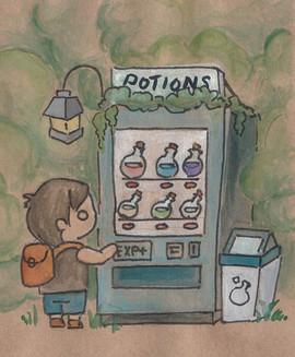 Potion Drink Machine